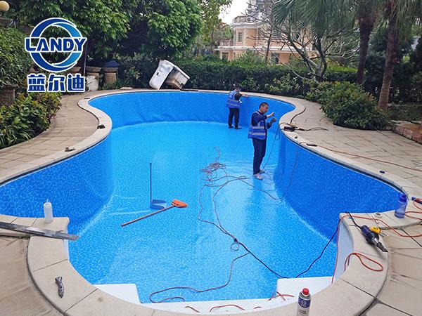 防滑泳池胶膜